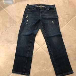 Jennifer Lopez Boyfriend Jeans size 6